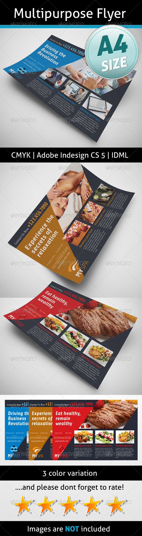 GraphicRiver Multipurpose Flyer 5237173