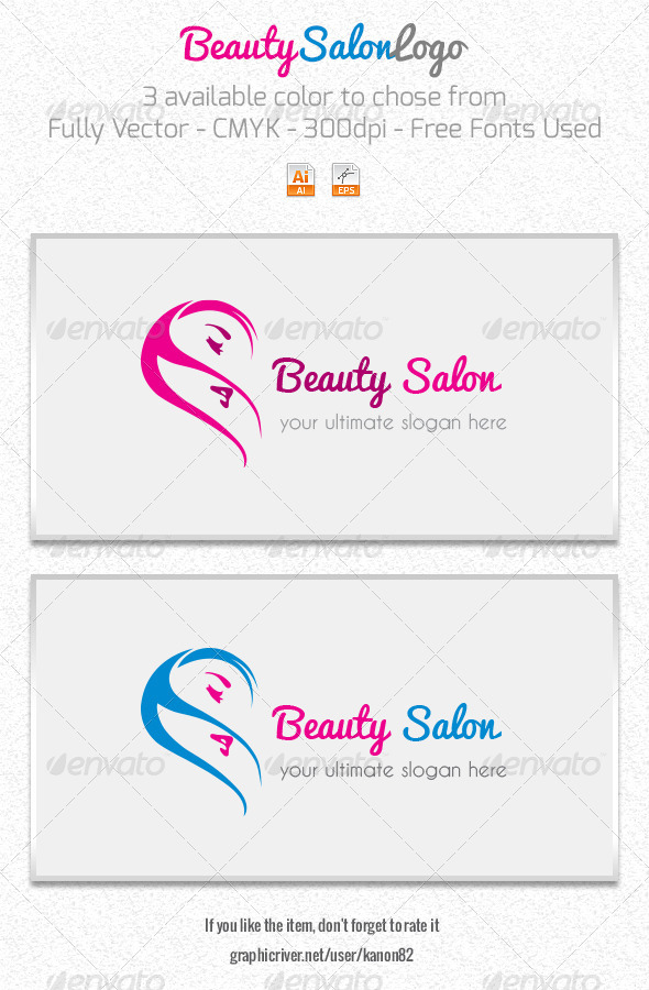 GraphicRiver Beauty Salon Logo 5232560