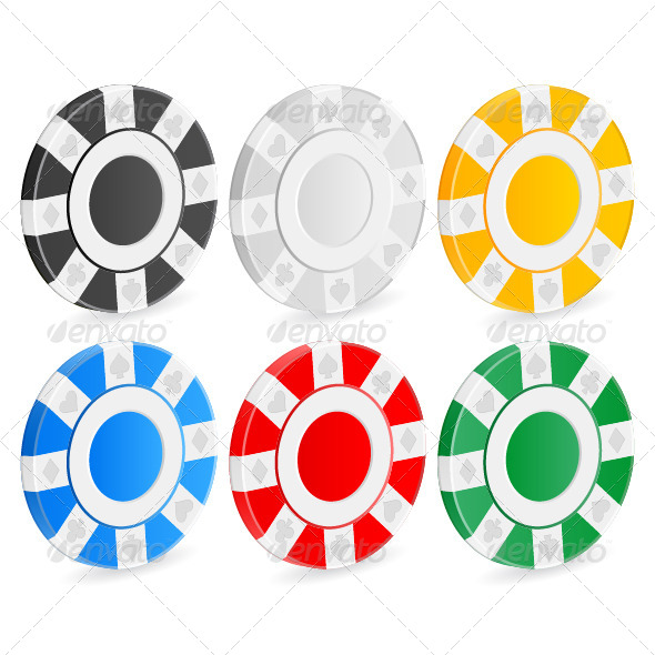 GraphicRiver Casino Chips 5238056