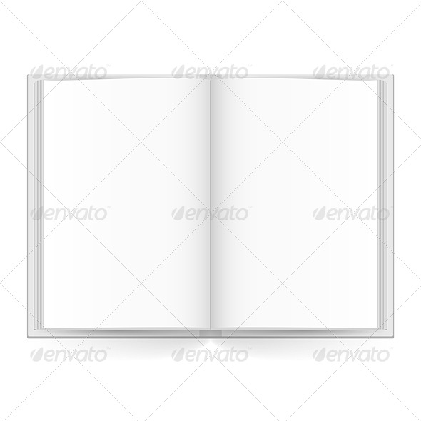 GraphicRiver Open Book 5238413