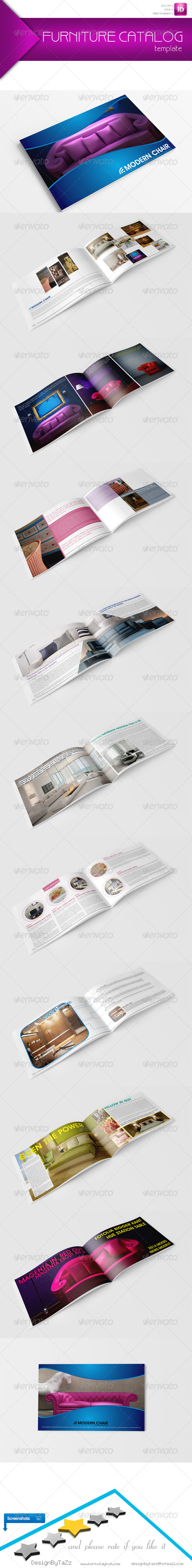 GraphicRiver New Furniture Catalog Template 5184434
