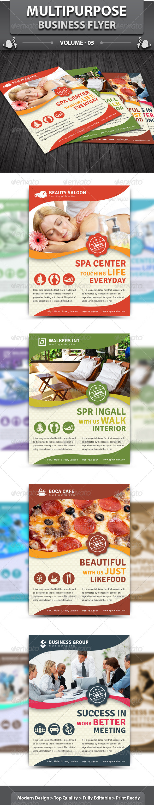 Multipurpose Business Flyer | Volume 5 - Corporate Flyers