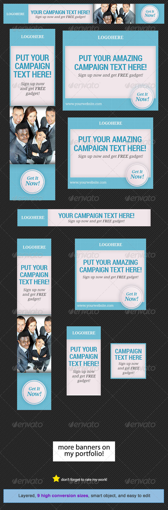 GraphicRiver Corporate Web Banner Design Template 17 5241649