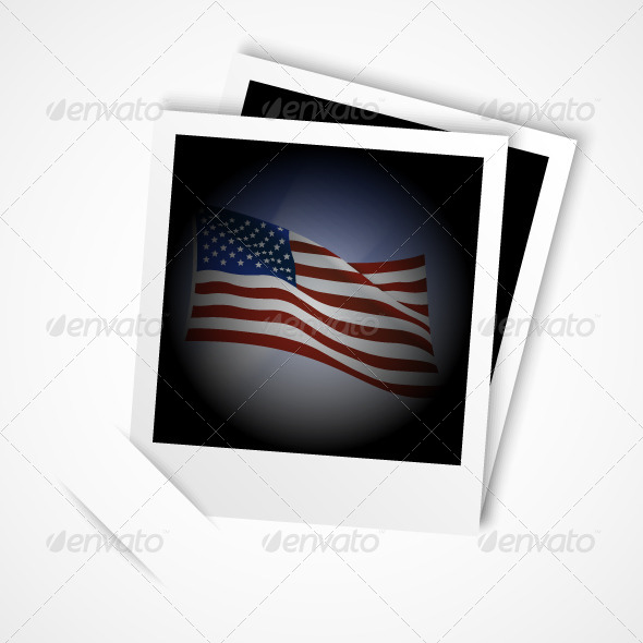 GraphicRiver American Flag Photo 5242099