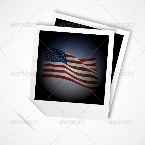 GraphicRiver American Flag Photo 5242099