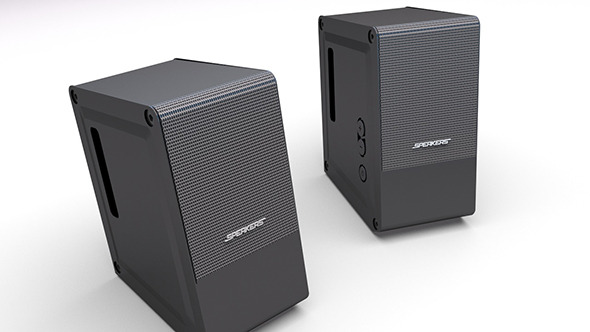 3DOcean PC Speakers VRay Render 5224529
