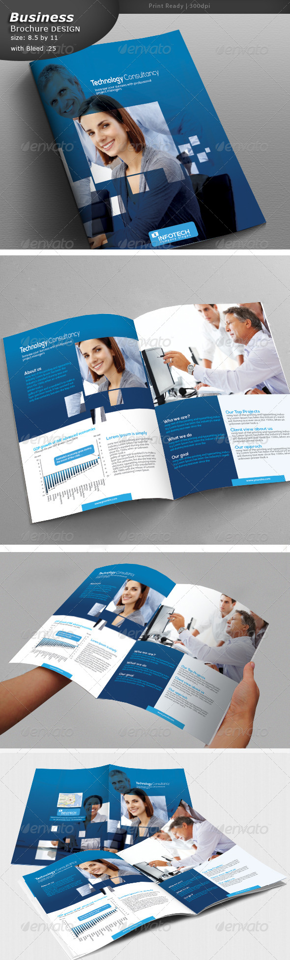 GraphicRiver Business Brochure 5242704