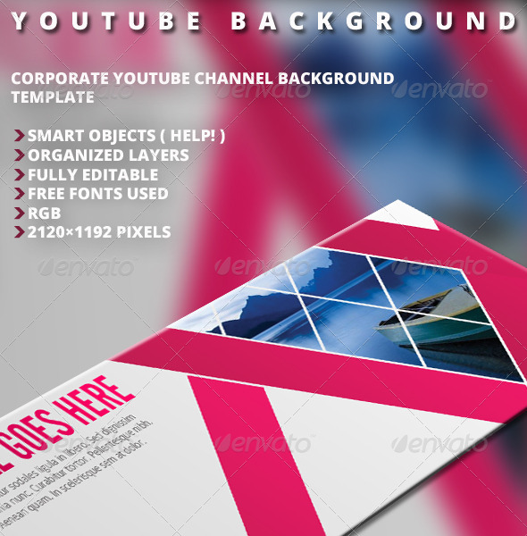 GraphicRiver Youtube Background Vol.1 5242946