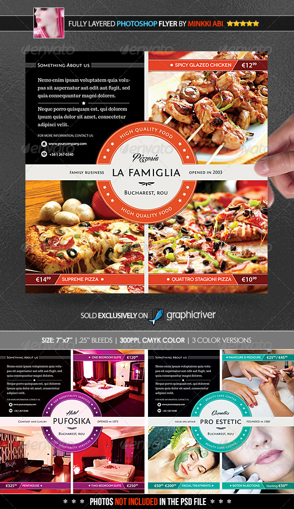 GraphicRiver Business Promotion Poster Flyer 5243450