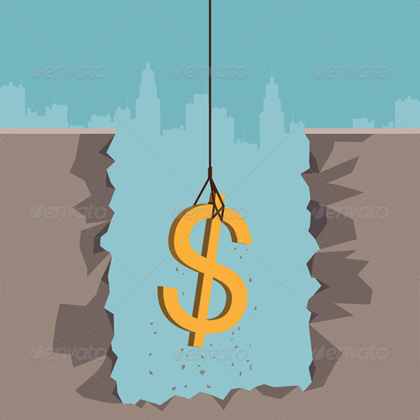 GraphicRiver Excavating Dollar 5243824