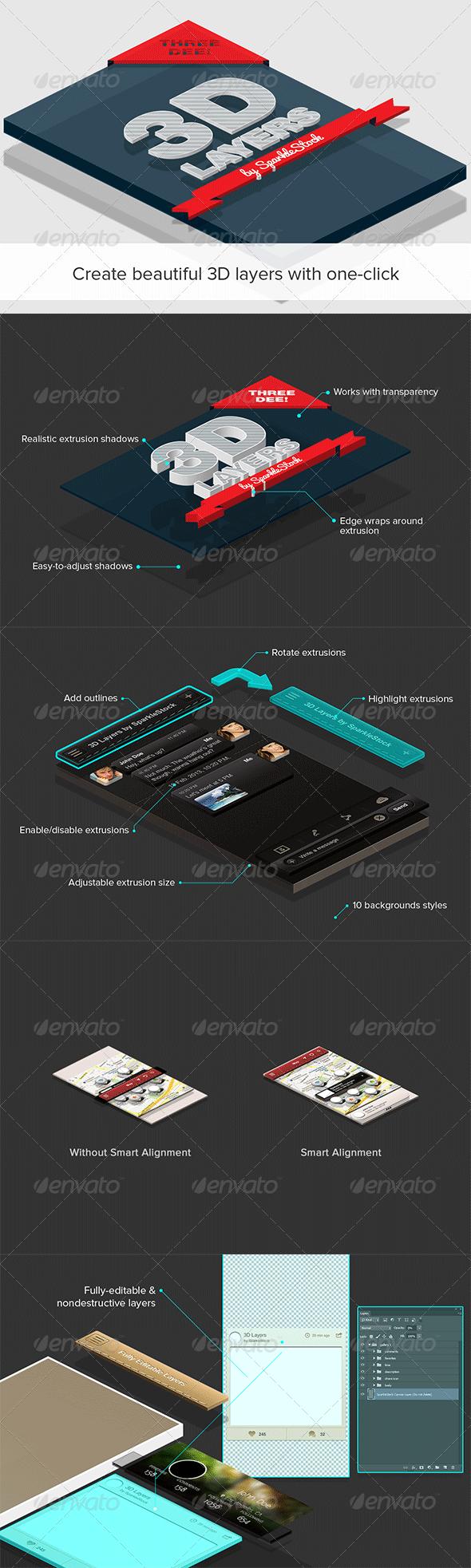 GraphicRiver 3D Layers 5245202