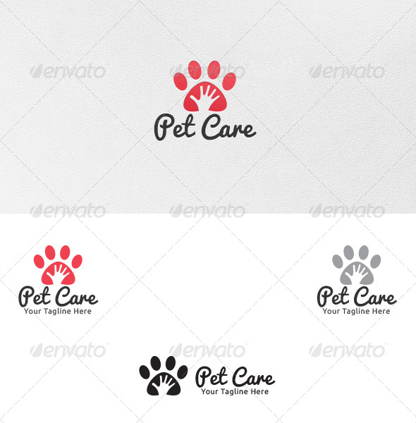 GraphicRiver Pet Care Logo Template 5245410