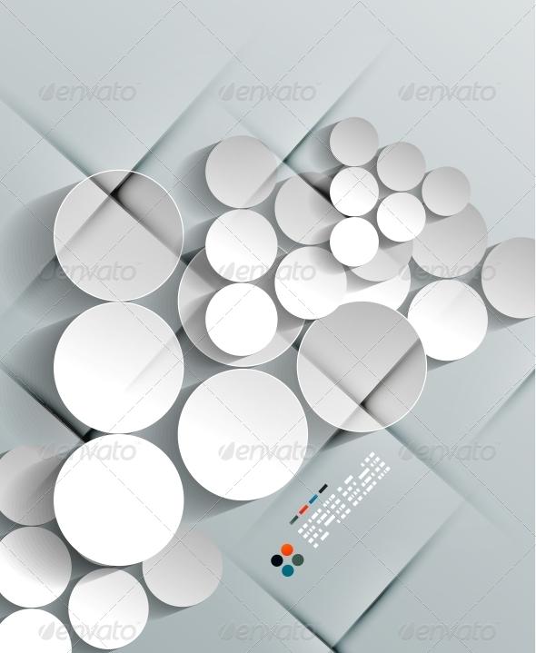 GraphicRiver Vector Arrows Paper Modern Design 5245579