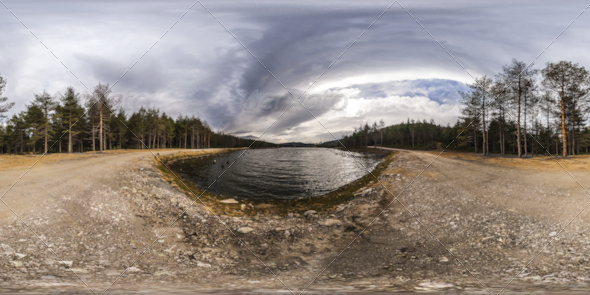3DOcean HDRI Mountain Lake And Forest 5246244