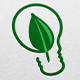 Green Bulb Logo - GraphicRiver Item for Sale