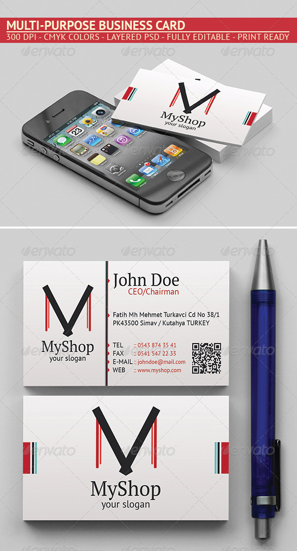 GraphicRiver Business Card 5205724