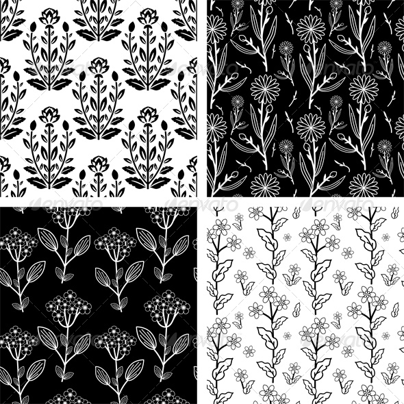 GraphicRiver Patterns Set 5249571