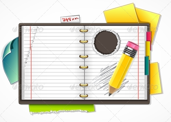 GraphicRiver Vector Copybook 5251373