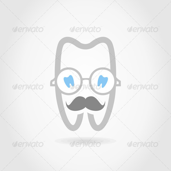 Mr a tooth - Stock Photo - Images