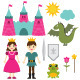Princess and Prince Set - GraphicRiver Item for Sale