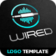 Wired Logo Template - GraphicRiver Item for Sale