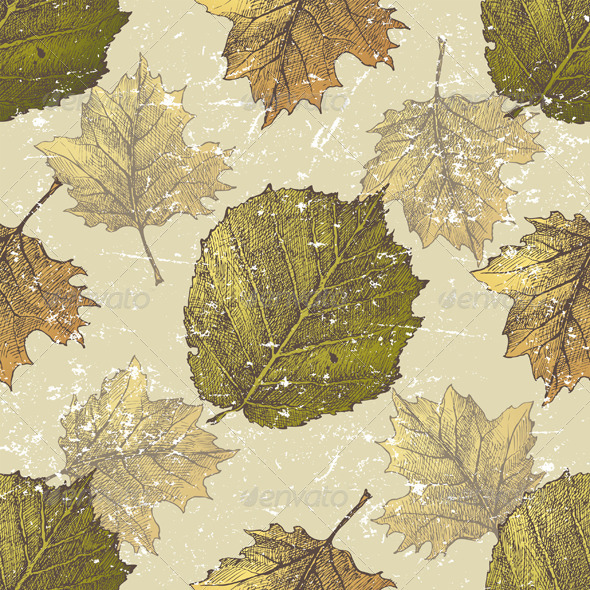 GraphicRiver Autumn Seamless 5252295