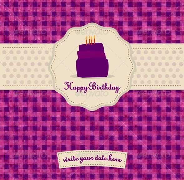 GraphicRiver Happy Birthday Card 539999