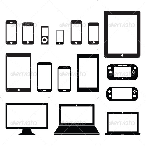 GraphicRiver Electronic Devices 5254359
