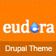 Eudora – Responsive Corporate Drupal Theme  Free Download