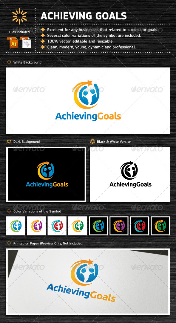 GraphicRiver Achieving Goals 5248374