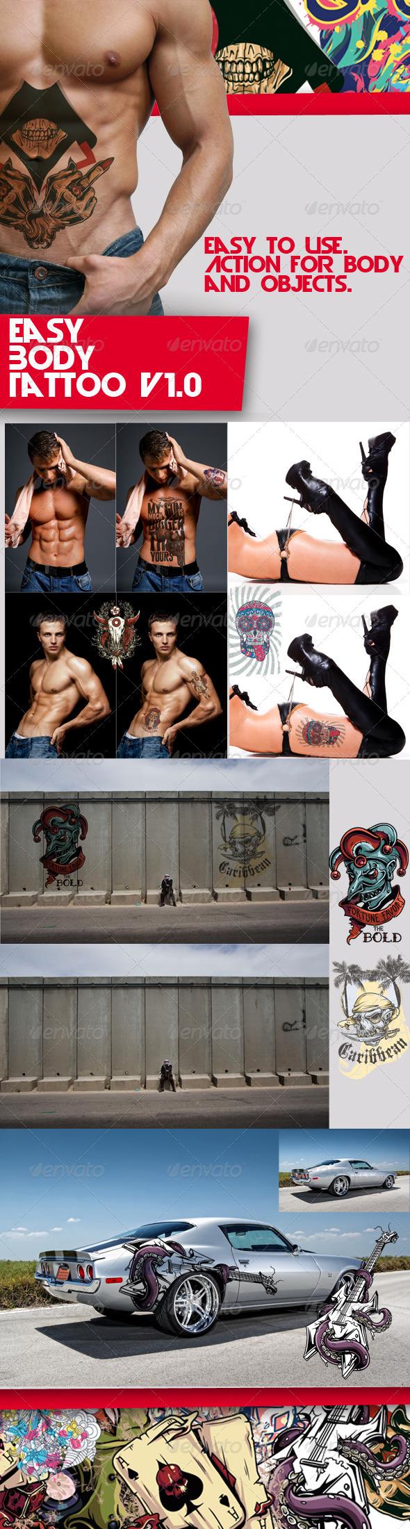 GraphicRiver Easy Body Tattoo V1.0 5255085