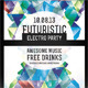 Futuristic Electro Party Flyer - GraphicRiver Item for Sale