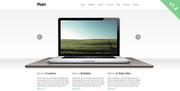 Plain - Creative Site Templates