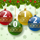 Hung Christmas Balls with Numbers - GraphicRiver Item for Sale