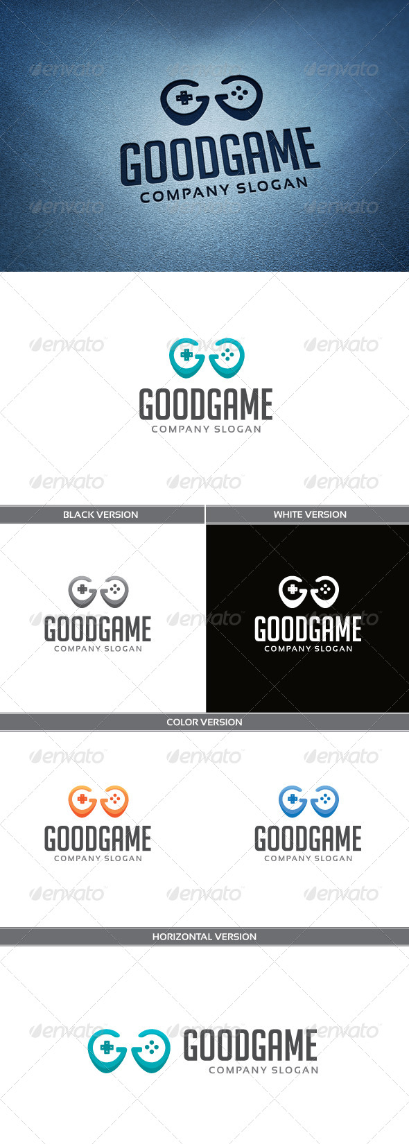 GraphicRiver GoodGame Logo 5257781