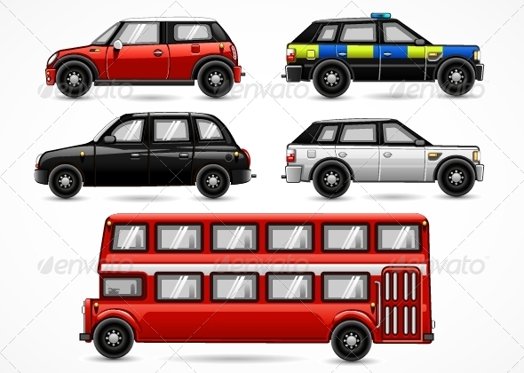 GraphicRiver England Cars 5257961