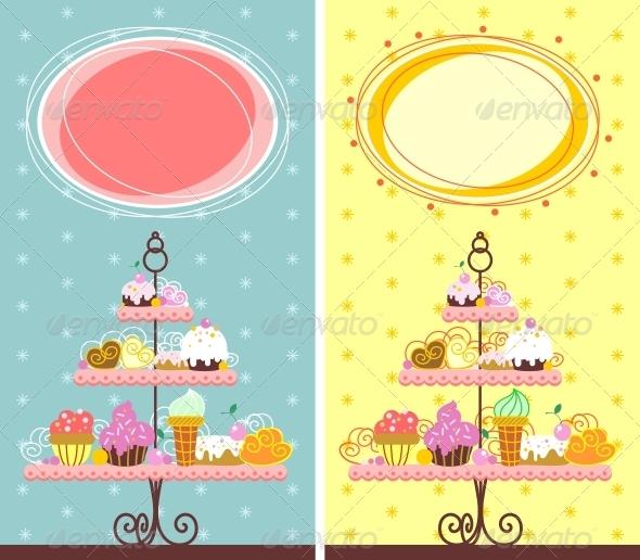 GraphicRiver Fine Dessert Banner 5258016