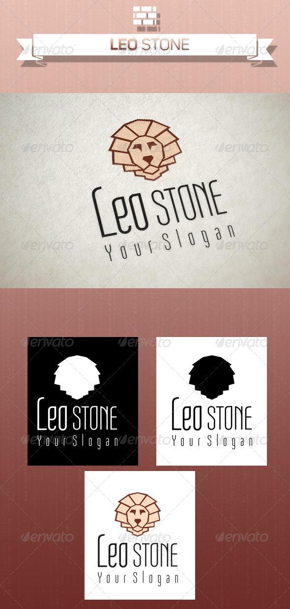 GraphicRiver Leo Stone Logo 5258545