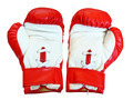 leather boxing gloves for fight. - PhotoDune Item for Sale