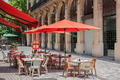 typical Restaurant Terraces in Barcelona - PhotoDune Item for Sale