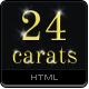 24 Carats - Gold Edition - ThemeForest Item for Sale