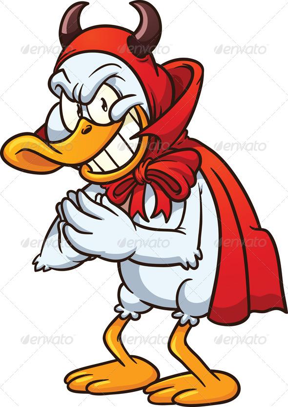 GraphicRiver Devil Duck 5259128