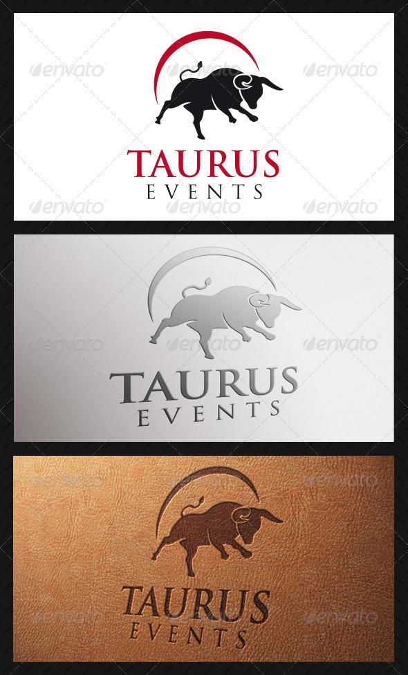 GraphicRiver Taurus Bull Logo Template 5262064