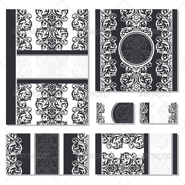 GraphicRiver Floral Frames 5263297