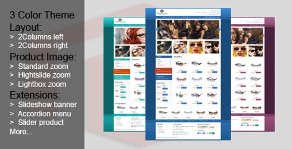 GlassesStore - Magento eCommerce