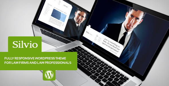 ThemeForest Silvio Lawyer & Business WordPress Theme 5265729