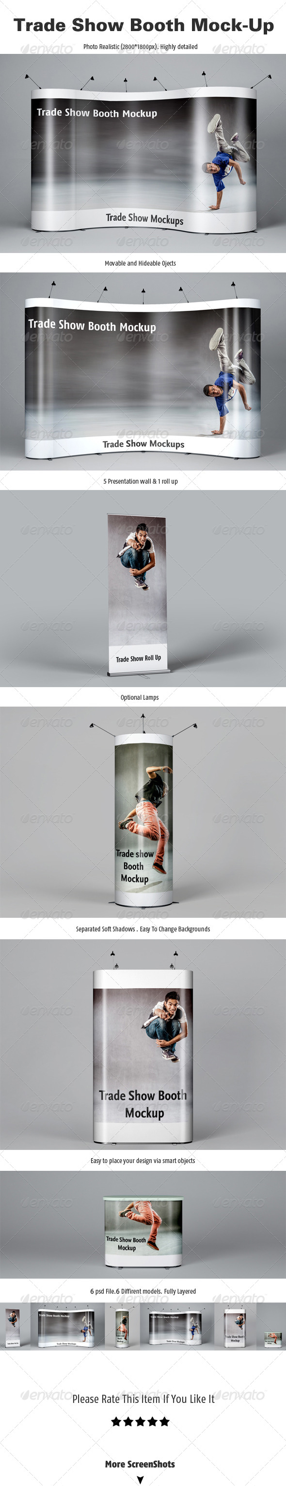 GraphicRiver Trade Show Booth Mockups 5266231