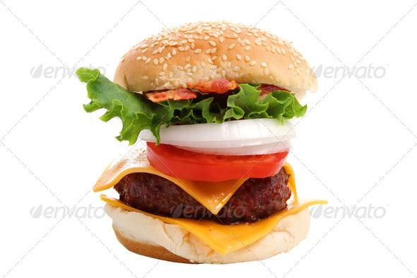 PhotoDune Cheeseburger 541492