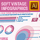 Soft Color Vintage Infographics 02 - GraphicRiver Item for Sale