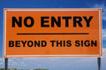 No Entry Sign - PhotoDune Item for Sale